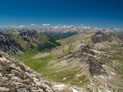 Hiking on the Monviso Alps