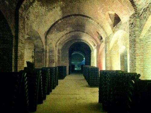 Underground Cathedral in Canelli